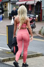 CHRISTINE MCGUINNESS in Tights Out and About in Cheshire 11/22/2019