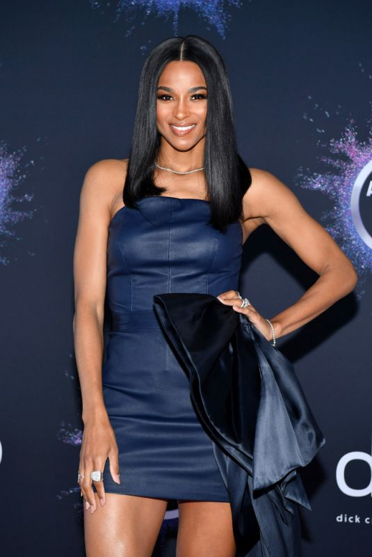 CIARA at 2019 American Music Awards Press Day & Red Carpet Roll-out in Los Angeles 11/21/2019