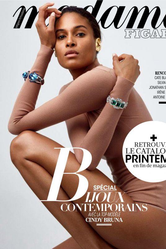 CINDY BRUNA in Madame Figaro Magazine, November 2019