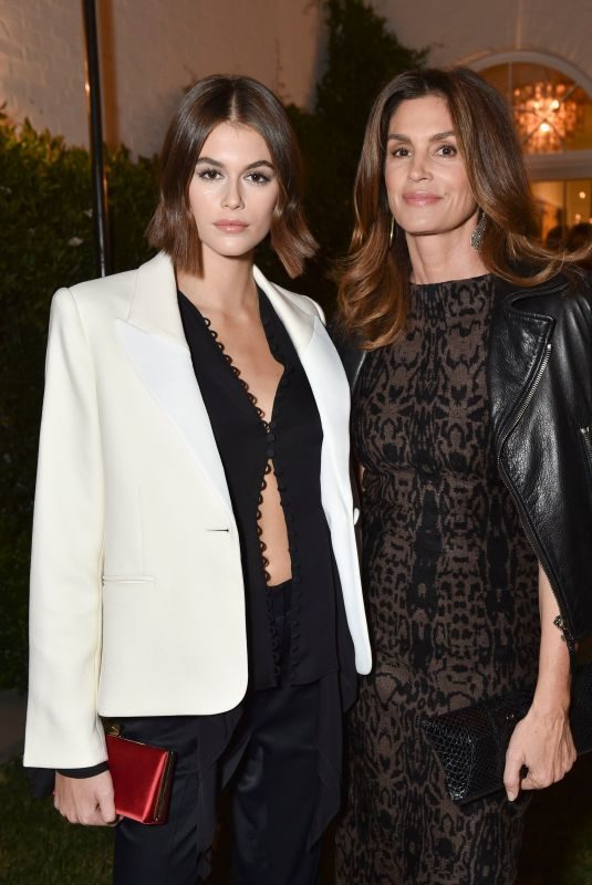 CINDY CRAWFORD and KAIA GERBER at A Sense of Home Gala, Inside Los Angeles 11/01/2019