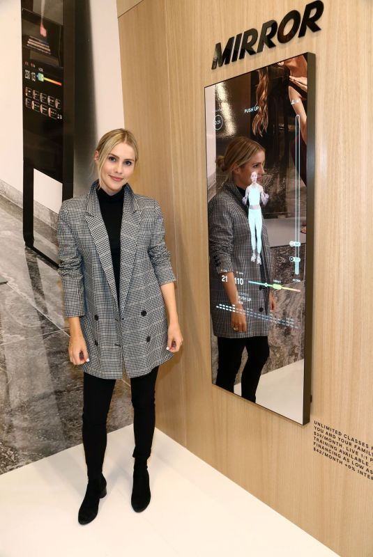 CLAIRE HOLT at Mirror Westfield Century City Grand Opening in Century City 11/19/2019