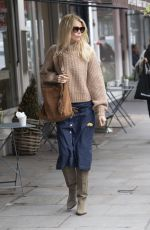 CLAUDIA SCHIFFER Out Shopping in Notting Hill 11/05/2019