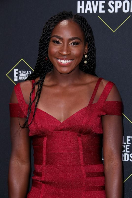 COCO GAUFF at People's Choice Awards 2019 in Santa Monica 11/10/2019