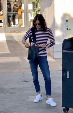 COURTENEY COX Out and About in Los Angeles 11/06/2019