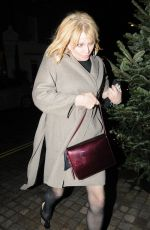 COURTNEY LOVE Arrives at Chiltern Firehouse in London 11/28/2019