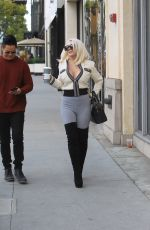 COURTNEY STODDEN Out and About in Beverly Hills 11/21/2019