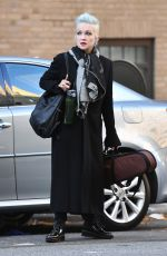 CYNDI LAUPER Out and About in New York 11/02/2019
