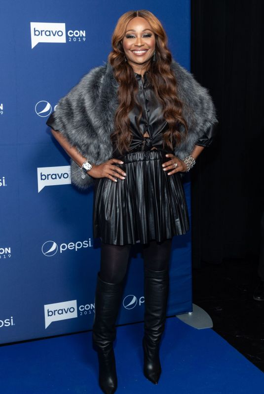 CYNTHIA BAILEY at Watch What Happens Live with Andy Cohen at Bravoconin New York 11/15/2019