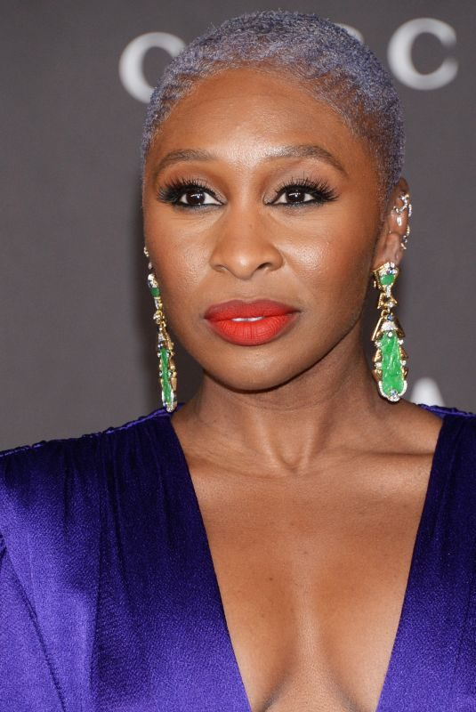 CYNTHIA ERIVO at 2019 Lacma Art + Film Gala Presented by Gucci in Los Angeles 11/02/2019
