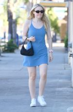 DAKOTA FANNING Arrives at a Nail Salon in Studio City 11/18/2019