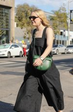 DAKOTA FANNING Out and About in Los Angeles 11/02/2019