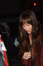 DAKOTA JOHNSON Out and About in New York 11/02/2019