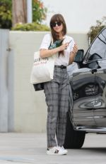 DAKOTA JOHNSON Out and About in Santa Monica 11/19/2019