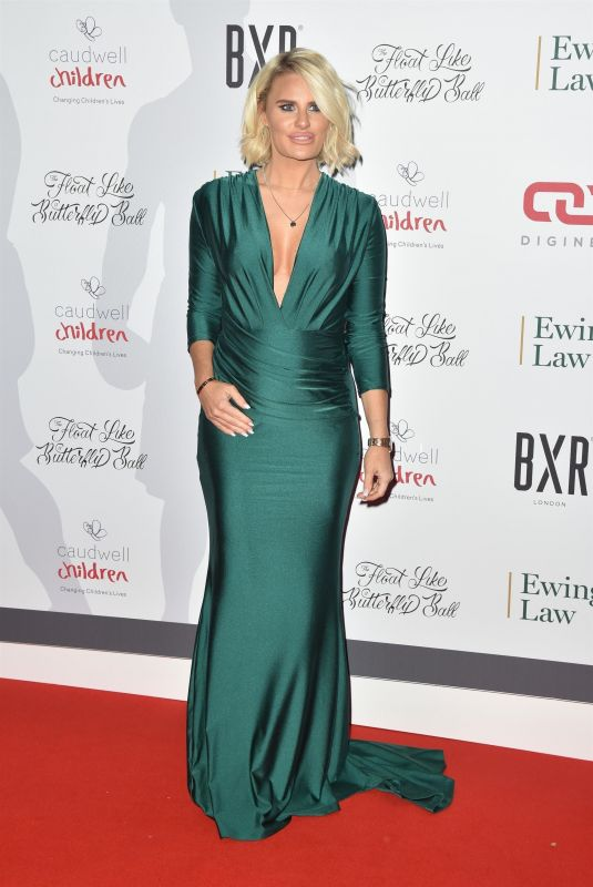 DANIELLE ARMSTRONG at Caudwell Children Float Like a Butterfly Ball in London 11/16/2019