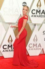 DANIELLE BRADBERY at 2019 CMA Awards in Nashville 11/13/2019