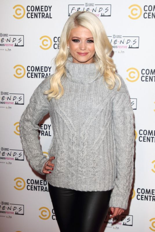 DANIELLE HAROLD at Comedy Central Friends Festive Exhibition Launch in London 11/28/2019