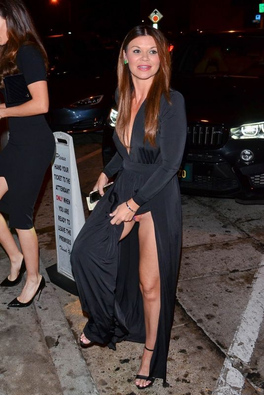 DANIELLE VASINOVA at Craig's Restaurant in West Hollywood 11/16/2019