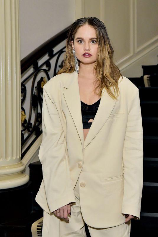 DEBBY RYAN at Violet Grey x Victoria Beckham Beauty LA Dinner in Beverly Hills 11/20/2019