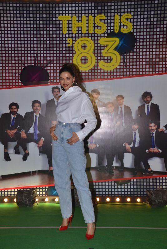 DEEPIKA PADUKONE at '83 Wrap Up Party in Mumbai 10/08/2019