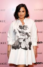 DEMI LOVATO at Teen Vogue Summit 2019 in Los Angeles 11/02/2019