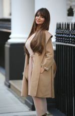 DEMI ROSE MAWBY Arrives at Lullabellz Pop Up Boutique in London 11/14/2019