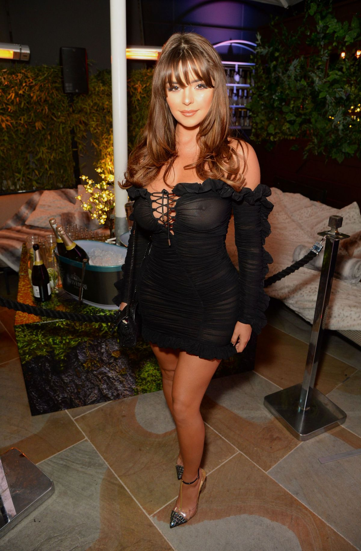 DEMI ROSE MAWBY at The Skinny Tan: Choc Range Launch Party