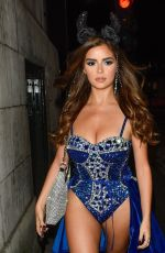 DEMI ROSE MAWBY Night Out in london 10/26/2019