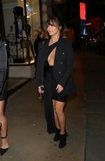 DEMI ROSE MAWBY Night Out in London 11/14/2019