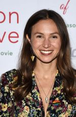 DOMINIQUE PROVOST-CHALKLEY at Season of Love Premiere in Los Angeles 11/21/2019