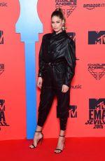 DOUTZEN KROES at MTV Europe Music Awards in Seville 11/03/2019