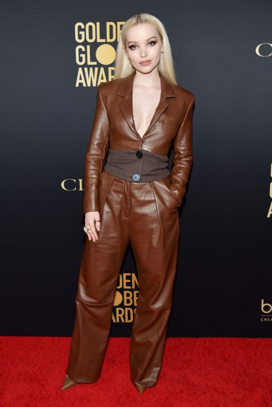 DOVE CAMERON at HFPA & THR Golden Globe Ambassador Party in West Hollywood 11/14/2019