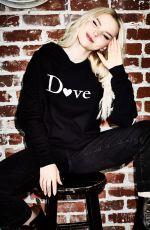 DOVE CAMERON for Dove Merchandise Clothing Line, November 2019