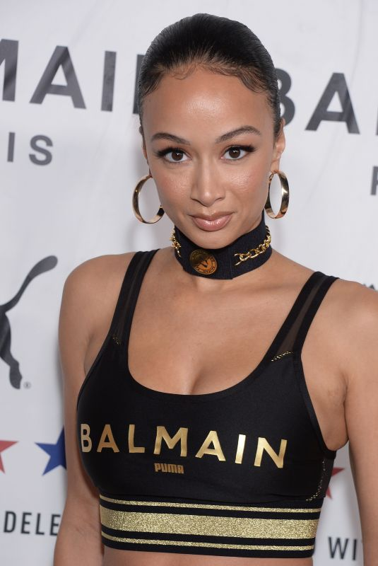DRAYA MICHELE at Puma x Balmain Launch Event in Los Angeles 11/21/2019