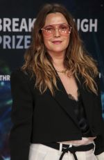 DREW BARRYMORE at 8th Annual Breakthrough Prize Ceremony in Mountain View 11/03/2019