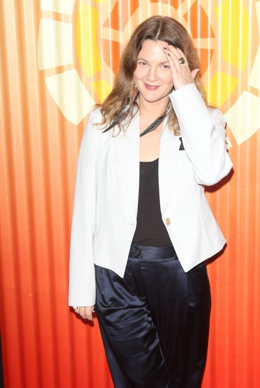DREW BARRYMORE at Charlize Theron's Africa Outreach Project Fundraiser in New York 11/12/2019