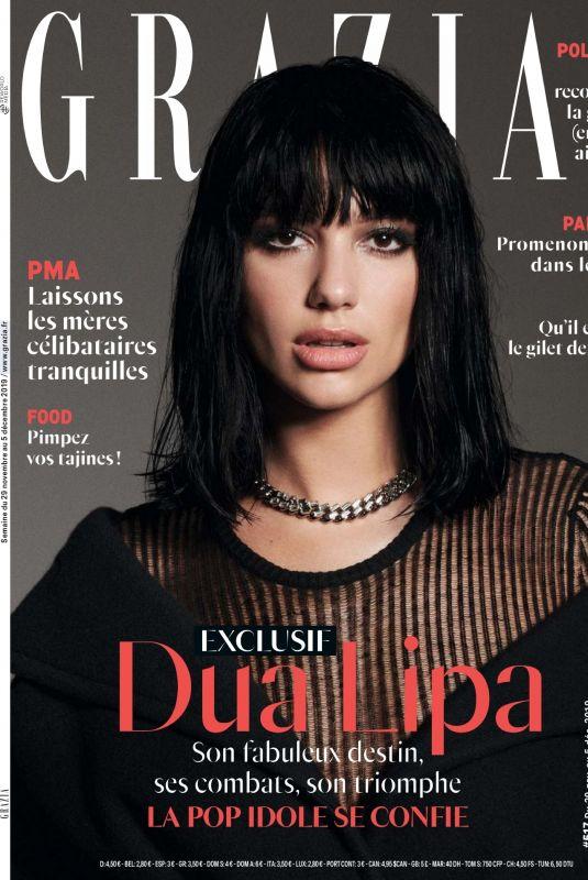 DUA LIPA in Grazia Magazine, France November 2019
