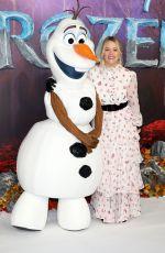 EDITH BOWMAN at Frozen 2 Premiere in London 11/17/2019