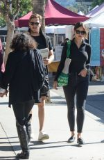 EIZA GONZALEZ and Luke Bracey Out Shopping in Los Angeles 11/24/2019