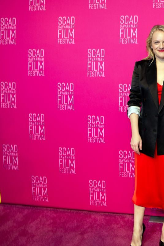 ELISABETH MOSS at 22nd Scad Savannah Film Festival 10/31/2019