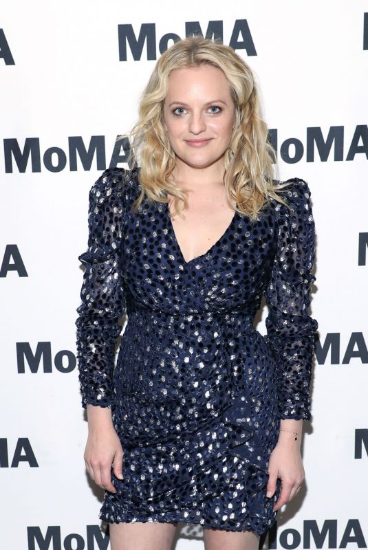 ELISABETH MOSS at Her Smell Screening at Museum of Modern Art in New York 11/20/2019