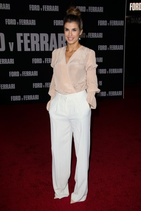 ELISABETTA CANALIS at Ford v Ferrari Premiere in Hollywood 11/04/2019