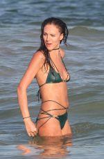 ELIZA CUMMINGS in Bikini at a Beach in Tulum 11/24/2019