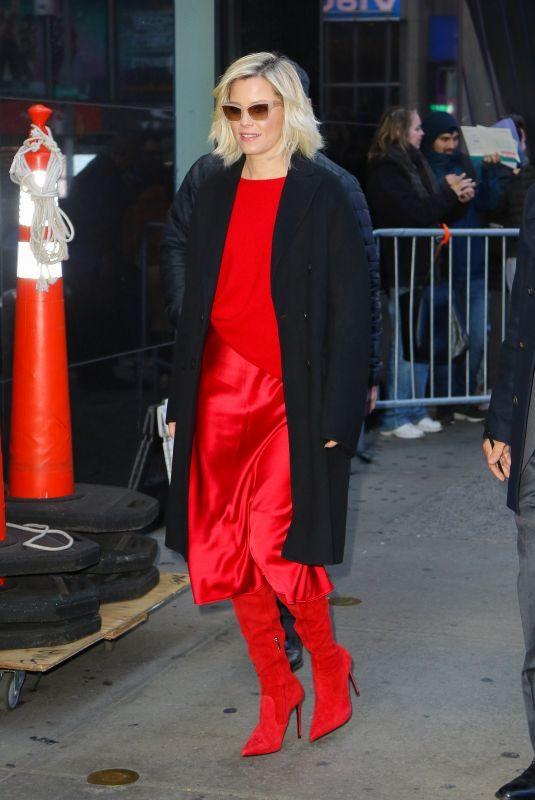 ELIZABETH BANKS Arrives at Good Morning America in New York 11/04/2019
