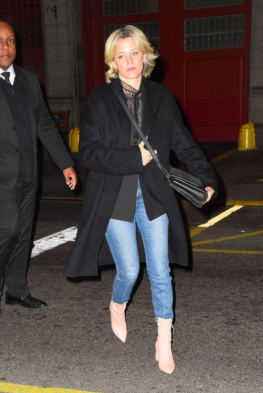 ELIZABETH BANKS Arrives at SNL After-party in New York 11/02/2019