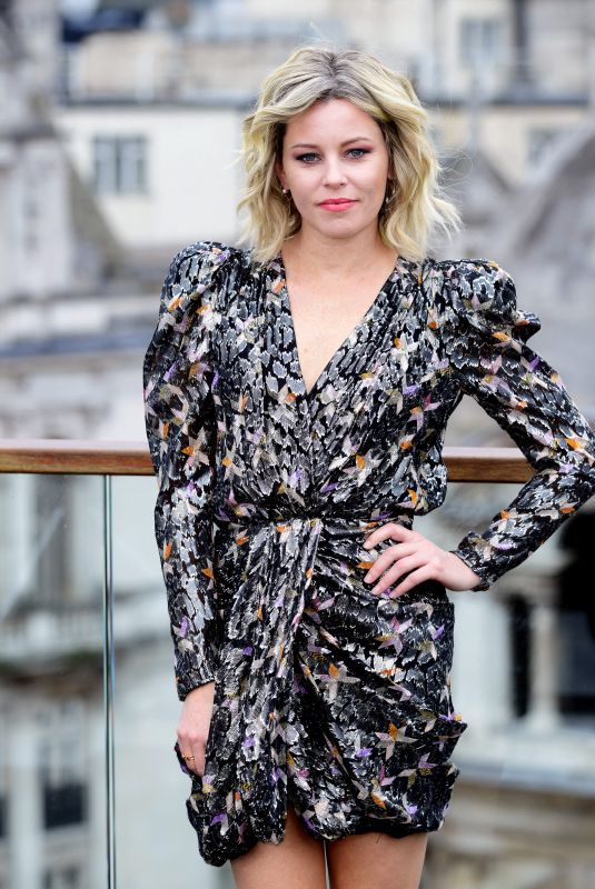 ELIZABETH BANKS at Charlie's Angels Photocall in London 11/21/2019