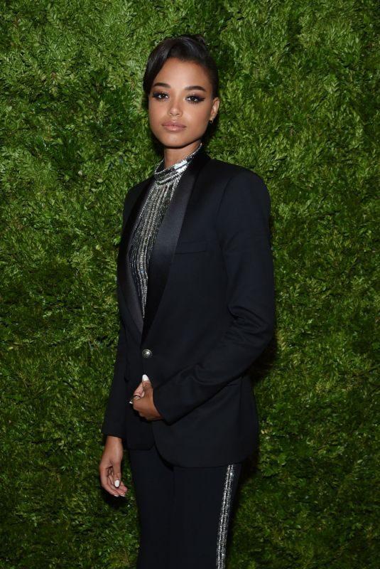 ELLA BALINSKA at Cfda & Vogue Fashion Fund Awards in New York 11/04/2019