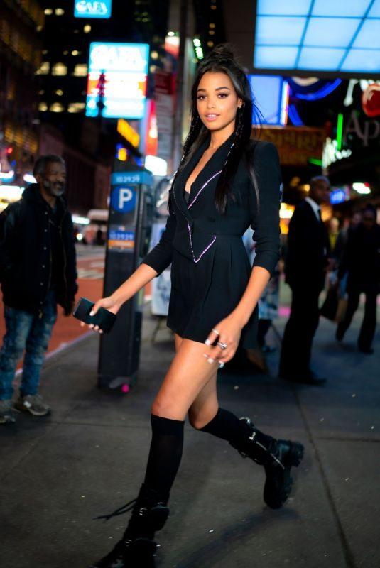 ELLA BALINSKA Night Out in New York 11/05/2019