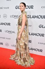ELLA HUNT at 2019 Glamour Women of the Year Awards in New York 11/11/2019