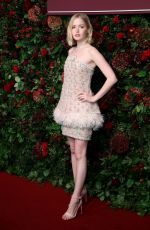 ELLIE BAMBER at 65th Evening Standard Theatre Awards in London 11/24/2019