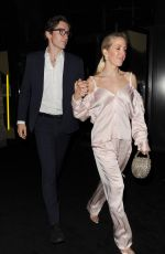 ELLIE GOULDING Leaves Centrepoint 50th Anniversary Gala in London 11/13/2019